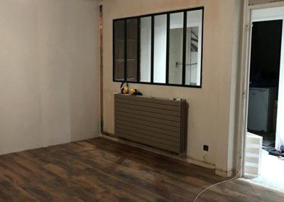 Remplacement d'un réseau de radiateur