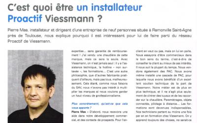Pierre Mas interviewé par la revue Filière Pro